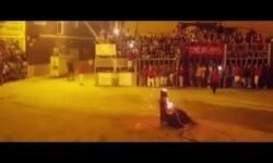 Bulls Defenders United protesta por la muerte de un toro en Foios al romperse el cuello