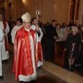 La profanación se produjo en la capilla del santo en la basílica de San Pascual
