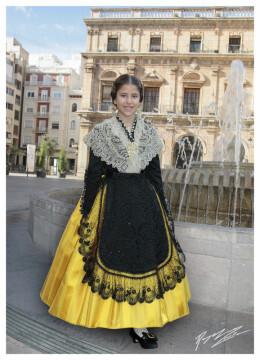 reina infantil Lucia_Burguete_Castellonera