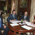 04-08-2017 La alcaldesa firma la póliza que permitirá invertir otros 10 millones en Castellón