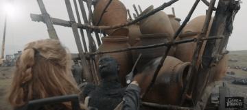 Así es como se grabó la primera gran batalla con dragones en Games of Thrones (11)