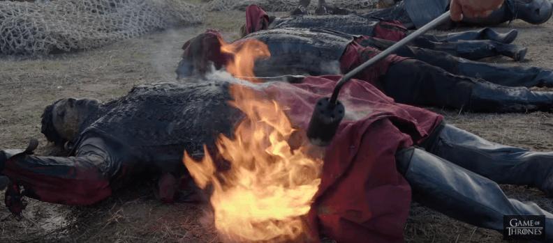 Así es como se grabó la primera gran batalla con dragones en Games of Thrones (4)