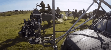 Así es como se grabó la primera gran batalla con dragones en Games of Thrones (5)