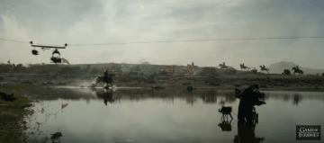 Así es como se grabó la primera gran batalla con dragones en Games of Thrones (6)
