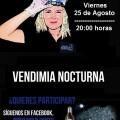 Cartel Vendimia Nocturna 2017
