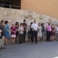El Ayuntamiento de Alboraya guarda 3 minutos de silencio por el atentado de Barcelona