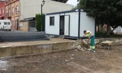El Ayuntamiento de València comienza las obras en el pueblo de Borbotó.
