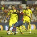 El Levante vence (1-0) al Villarreal en Orriols.