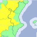 El Tiempo. Avisos meteorológicos Comunitat Valenciana Mañana Mapa Agencia Estatal de Meteorología AEMET. Gobierno de España