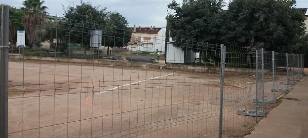 Inicio de obras en Borbotó.