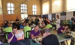 La sala del Ajedrez 'Valencia Origen del Ajedrez 1475' albergo un mas vez mas el torneo por equipos.