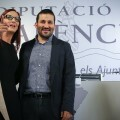 La vicepresidenta, Maria Josep Amigó, con el consejero de Educación, Vicent Marzà.