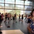Las instalaciones municipales de Petxina acogen a más de 125 jóvenes bailarines y bailarinas de diferentes nacionalidades.