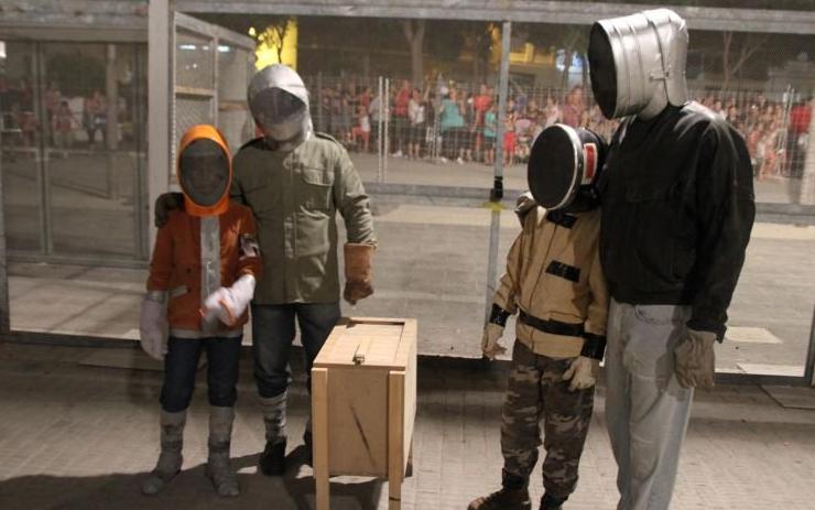 Los jóvenes coheteros de Paterna piden paso con la Cordà Infantil y el pasacalle infantil de cohetes de lujo elperiodic.com