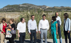 NP La Safor_Jorge Rodríguez con los alcaldes de Beniarjó y Real de Gandia_Abulaila (7)_0_0