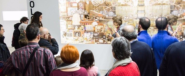 Visita a las exposiciones del Museu Valencià d'Etnologia.