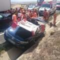 Los bomberos han rescatado el vehículo CEDIDA