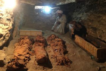 EGYPT-ARCHAEOLOGY-LUXOR