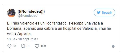 660 Un tuit de Nomdedéu sobre la enfermedad de Zaplana desata la polémica Levante EMV 660