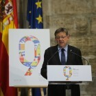 Jaume I abre las puertas del Palau para celebrar el 9 d'Octubre