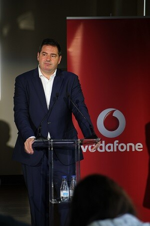 Andrés Vicente, director general de Empresas de Vodafone.