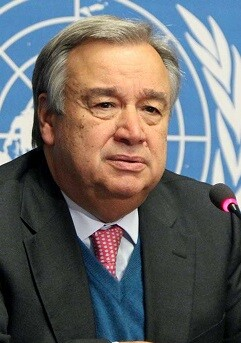 Antonio Guterrez.