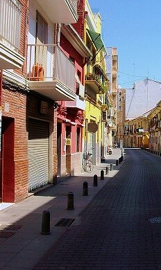 Barrio del Cabanyal.