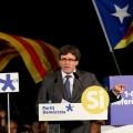 Carles Puigdemont denuncia 'prácticas propias de países totalitarios'.