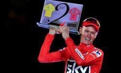 Chris Froome gana la Vuelta a España 2017.