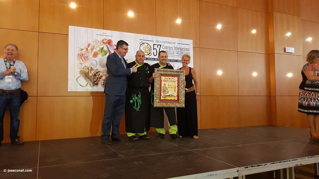 Concurso Internacional de Paellas de Sueca 2017 acto entrewga premios (22)