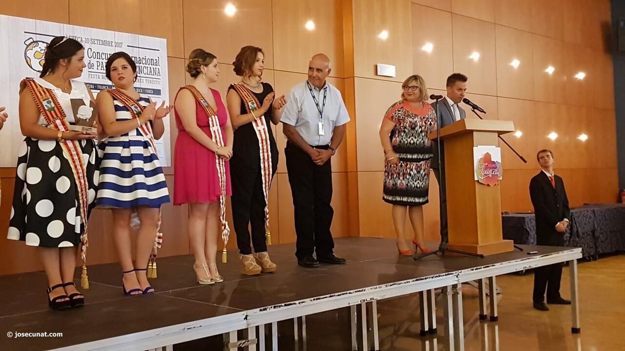 Concurso Internacional de Paellas de Sueca 2017 acto entrewga premios (4)