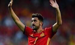 David Villa no viajará a Liechtenstein con la selección española.