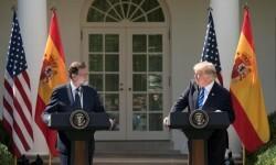 Donald Trump sobre el tema de Cataluña- 'España es un gran país y tendría que seguir unido'.
