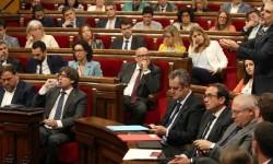 El Parlament catalán modifica su orden del día y así votar la ley del referéndum.