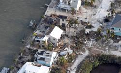 El huracán Irma ha destruido el 25 por ciento de las viviendas de Los Cayos a su paso por Florida.