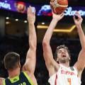 España pierde frente a Eslovenia (72-92) y luchará por el bronce en el Eurobasket.
