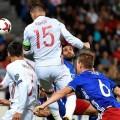 España vence a Liechtenstein por 0-8.