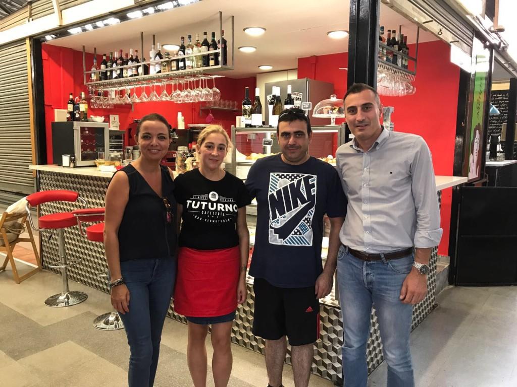 Inauguración negocio Mercado Municipal Burriana