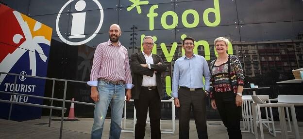 Jorge Rodríguez, Pilar Moncho, Evarist Caselles y Pablo Seguí.
