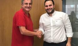 López felicita a Valls Pauner per la seua candidatura a la Federació Espanyola d'Esports per a Sords