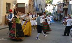 La 40ª Festa de las Danses de la Vall d'Albaida vuelve a Quatretonda, su lugar de origen.