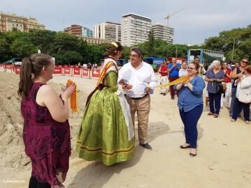 """La Seu-La Xerea-El Mercat tira y arrastra XIII Concurso de Tiro y Arrastre """"Ciudad de Valencia"""" (16)"""