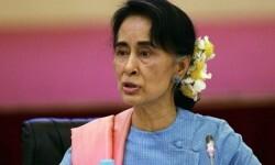 La líder de Birmania, Suu Kyi asegura que quiere poner fin a la violencia contra los rohinyás.
