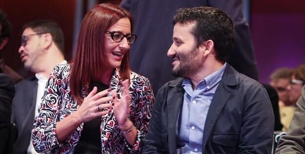 Maria Josep Amigó y Vicent Marzà.