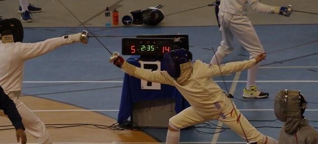 Ocho tiradores de competirán el próximo fin de semana en el TNR Junior a espada de Amposta.
