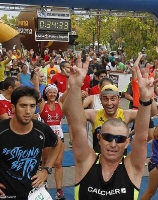 Participantes de la carrera.