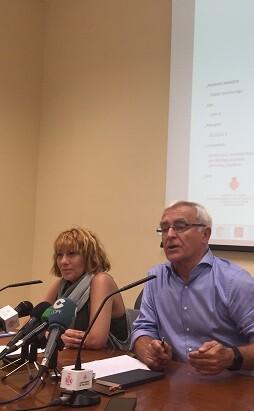 Pilar Soriano y Joan Ribó.