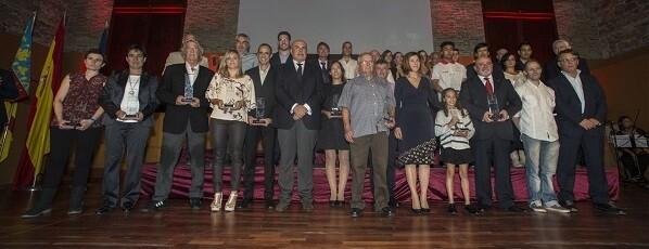 Premios al Mérito Deportivo de la Ciudad de València 2015.