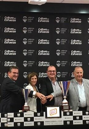 Presentación del Trofeu Ciutat València.