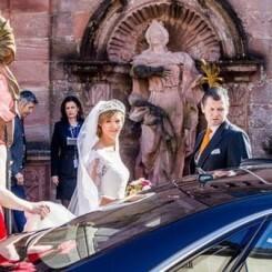 Ferdinand de Leiningen y la princesa Viktoria Luise de Prusia se casaron